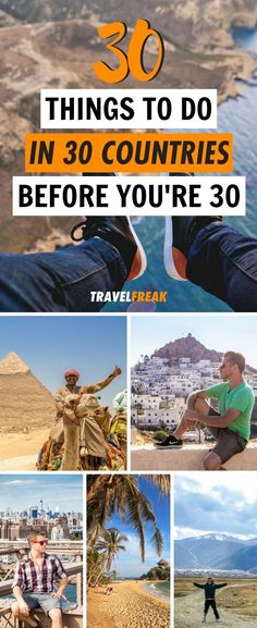 30 Things to Do Before the only bucket list you need! Check out the travel experiences you can't miss in your twenties! Travel List, Travel Guides, Travel Plan, Travel Advice, Solo Travel, 30 Things To Do Before 30, 30 Before 30 List, Tahiti, Best Places To Travel