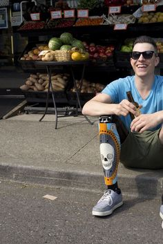 Amazing Prosthetic Leg Covers Are Both Fashionable And Functional