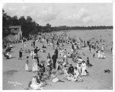 Winnipeg beach, 1912