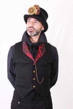 MWCVA01 - Mens Val Rose Waistcoat | Waistcoats | Phaze Clothing