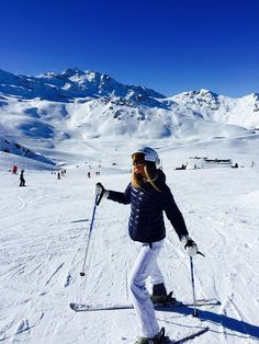 Alps, Skiing, and sun image Best Picture For Skiing Pictures solo For Your Taste You are looking for something, and it is going to tell you exactly what yo Ski And Snowboard, Snowboarding, Ski Ski, Mode Au Ski, Ski Girl, Ski Season, Ski Holidays, Online Zara, Winter Fun