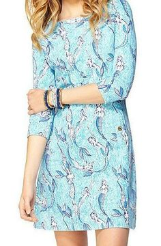 Lilly Pulitzer Charlene Shift Dress in Nice Tail (mermaid print) {this is all I want in my life}