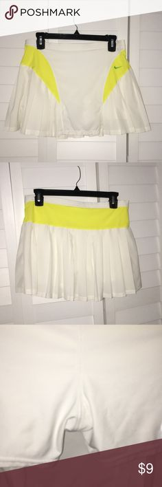 Nike Tennis Skirt Super cute and looks new, has shorts under Nike Skirts