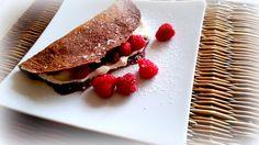 Simi´s Sattmacher- Rezepte und mehr.....: Schokopfannkuchen mit Himbeeren