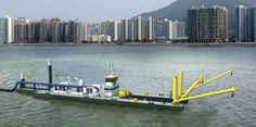 A new, larger and more powerful Damen cutter suction dredger CSD650. http://www.damendredging.com/en/news/2012/05/new_large_csd