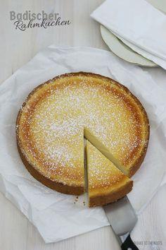 Badischer Rahmkuchen   Bake to the roots