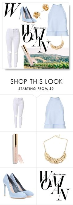 """Untitled #842"" by catharinee-8 ❤ liked on Polyvore featuring Miss Selfridge, Miu Miu and Sarah Jessica Parker"