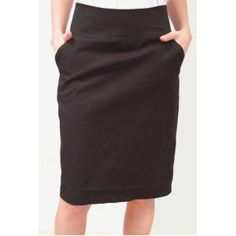 Bailey Blue Juniors' Pencil Skirt, Black, Small (Apparel) via Realadriatic.com