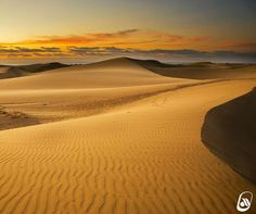 Maspalomas Canario, Canary Islands, Wonders Of The World, Celestial, Sunset, Beach, Water, Outdoor, Dune