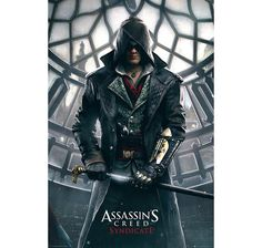 Assassin's Creed Syndicate Poster Big Ben. Hier bei www.closeup.de