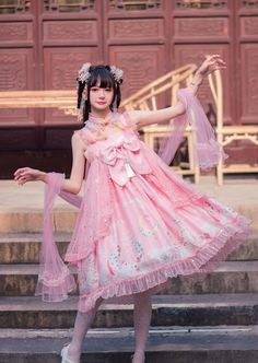 Buy qi lolita dresses, coats, tops and accessories from us. We directly part with brand lolita manufacturers to provide you quality and cheap qi lolita outfits. Emo Dresses, Fashion Dresses, Flower Girl Dresses, Party Dresses, Hot Topic Clothes, Scene Outfits, Emo Outfits, Gothic Lolita Fashion, Lolita Dress