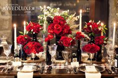 Style File: Cabin Couture | WedLuxe Magazine -  Fiorire Custom Florals by Rosalba