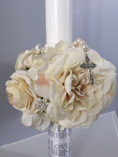 Orthodox wedding candle