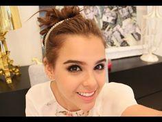 3 PEINADOS PARA CUALQUIER DÌA PASO A PASO (CHONGOS) ♥ - Yuya - YouTube