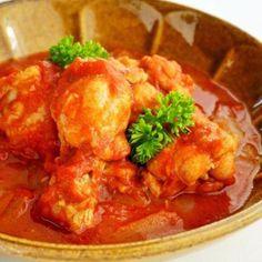 炊飯器で作る♪鶏手羽元のトマト煮。炊飯器を使った簡単おかずレシピ