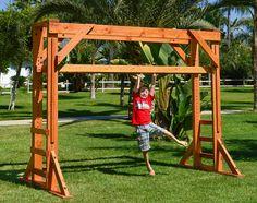 Monkey bars; adjustable height