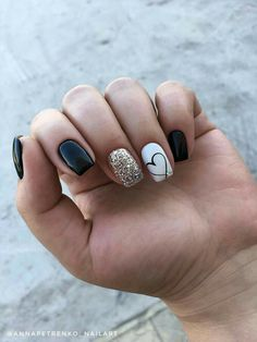 Stylish Winter Short Square Nail Designs To Copy This Season; - Stylish Winter Short Square Nail Designs To Copy This Season; Square Acrylic Nails, Cute Acrylic Nails, Acrylic Nail Designs, Cute Nails, Nail Art Designs, Pretty Nails, Nails Design, Short Nails Acrylic, Pedicure Designs