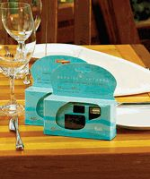 Blue Beach Design Single Use Camera for Wedding Reception or Party Perfect for the beach themed or beach wedding! Capture the special moments that are often mis Aqua Wedding, Beach Wedding Reception, Beach Wedding Favors, Summer Wedding, Dream Wedding, Wedding Fun, Reception Ideas, Wedding Gifts, Wedding Halls