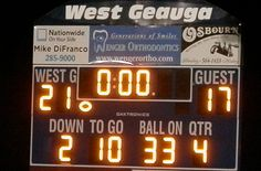 West G Edges Out Kenston in Rival Game