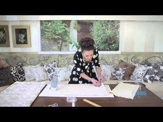 Sewing Tutorial: How to Make a Bed Throw - YouTube
