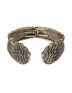 Metal wing bangle