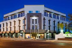 As the most luxurious hotel in the Northern Cape of South Africa, the four-star Protea Hotel Oasis in central Upington offers guests a truly memorable experience. Most Luxurious Hotels, Fine Hotels, Top Hotels, Hotel S, Interior Design Studio, Oasis, South Africa, Multi Story Building, Mansions