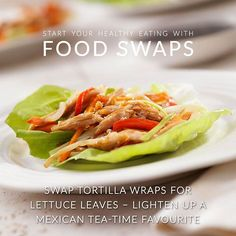 Looking for#healthy #foodswaps? We #love swapping #tortillas or #bread for alternatives like lettuce!  This makes fantastic wraps for #Mexican #food (hello #fajitas!) and you can even use portabello  #mushrooms as #burger buns!  What are your healthy food swaps?  #AndrewJames #nofilter #yummy #foodie #instafoodie #instafood #foodporn #foodstagram #vegetarian #fitness