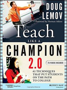 Teach Like a Champion 2.0: 62 Techniques that Put Students on the Path to College by Doug Lemov http://www.amazon.com/dp/1118901851/ref=cm_sw_r_pi_dp_r6dIwb0ZHQH3X
