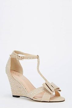 Womens Ladies Beige Diamante Mid Wedge Heel T-Bar Shoes Sandals Size UK 4,8 New    eBay  Click On Link To Visit My Ebay Shop http://stores.ebay.co.uk/all-about-feet  Useful Info:  - Standard Size - Standard Fit - By Mannika - Beige In Colour - Heel Height: 3.5 Inches - All Over Diamante Detail - Faux Suede Upper - Bow To The Toe - Buckle Side Fastenijng #shoes #sandals #sandal #beige #wedge #wedges #T-bars #bow #diamante #fashion #footwear #forsale #womens #ladies #ebay #ebayseller #ebayshop
