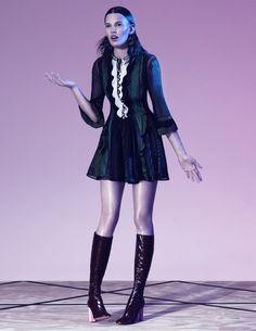 Amanda Murphy by Paola Kudacki for W Magazine Korea April 2015