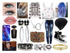 """""""Hanging Out with Niall Horan"""" by kitty-styles-horan-biedka ❤ liked on Polyvore featuring Anna Kosturova, Converse, Coal, Jennifer Meyer Jewelry, Henri Bendel, Victoria's Secret and Mattia Cielo"""