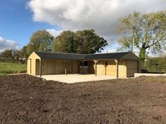 L Shape stable block, designed manufactured and installed to suit your indivdual requirements. Extensive range of bespoke designs. Horse Stables, Horse Barns, Equestrian Stables, Horses, Dream Barn, My Dream Home, Hay Barn, Cattle Barn, Shiplap Cladding