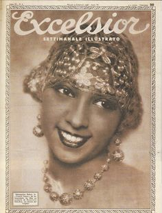 vintage african american flapper photos | Josephine Baker; Compilation by Bryan Hammond
