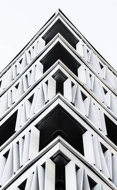 Stunning Geometry of Madrid Architecture