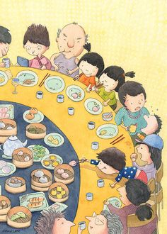 Dim Sum Time! By Maple Lam.