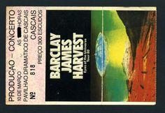 Bilhete concerto Barclay James Harvest em Cascais