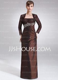 Mother of the Bride Dresses - $124.99 - Sheath Strapless Floor-Length Taffeta Mother of the Bride Dress With Ruffle Beading (008021716) http://jjshouse.com/Sheath-Strapless-Floor-Length-Taffeta-Mother-Of-The-Bride-Dress-With-Ruffle-Beading-008021716-g21716