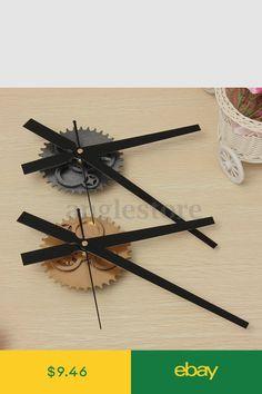 Wall Clocks Home & Garden Wooden Clock Plans, Wood Texture, Ceiling Fan, Gears, Hair Accessories, Metal, Wall Clocks, Modern, Diy