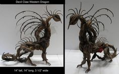 Devil Claw Western Dragon by ART-fromthe-HEART  http://art-fromthe-heart.deviantart.com/art/Devil-Claw-Western-Dragon-97582965