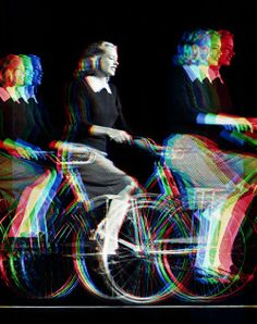 Chicks and Bikes Photomontage, Vaporwave, Collages, Tarot, Pink Lila, Have A Nice Trip, Where Is My Mind, Glitch Art, Double Exposure