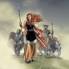 Boudica Warrior Queen of the Iceni The story of Boudica is an amazing one. A woman who refused to be bullied, she stood up for herself, and took on the might of the Roman Empire.