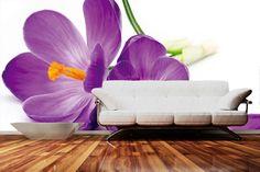 Fialové kvety ako fototapeta na stenu | DIMEX