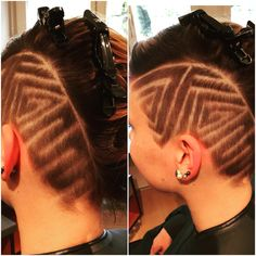 Change your style! Make hairtattoos