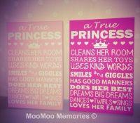 Princess quote board