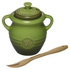 Olive Jar, Le Creuset