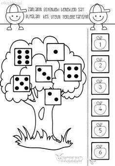 Numbers Kindergarten, Preschool Kindergarten, Kindergarten Worksheets, Math For Kids, Fun Math, Teaching Kids, Kids Learning, Math Stations, Childhood Education