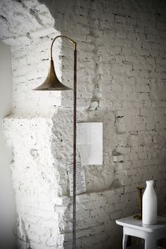 simple white painted wall
