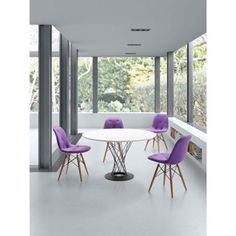 Zuo White Spiral Table