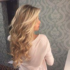 long hair, curls, balayage, hairdo, hairstyle
