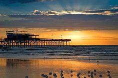Galveston sunset, via Frommer's